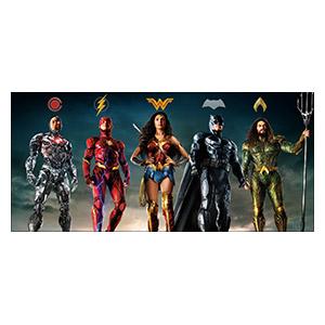 Justice League. Размер: 130 х 60 см